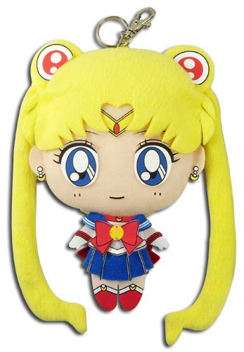 Sailor Moon - Sailor Moon 7'' Plush Coin Purse, an officially licensed product in our Sailor Moon Wallet & Coin Purse department.