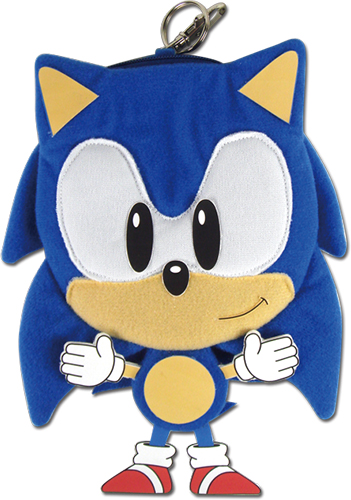 Sonic The Hedgehog - Sonic 7'' Plush Coin Purse, an officially licensed product in our Sonic Wallet & Coin Purse department.
