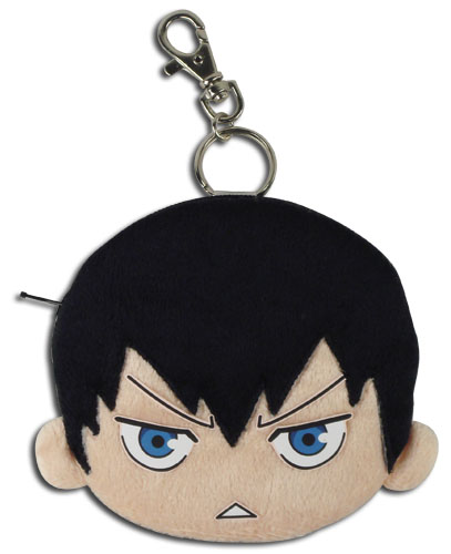 Haikyu!! - Kageyama Face Plush Coin Purse, an officially licensed product in our Haikyu!! Wallet & Coin Purse department.