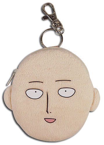 One Punch Man - Saitama Face Coin Purse, an officially licensed product in our One-Punch Man Wallet & Coin Purse department.