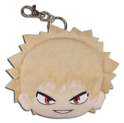 My Hero Academia - Bakugo Plush Coin Purse, an officially licensed My Hero Academia product at B.A. Toys.