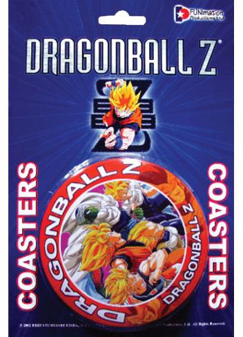 Dragon Ball Z Coaster Set officially licensed product at B.A. Toys.