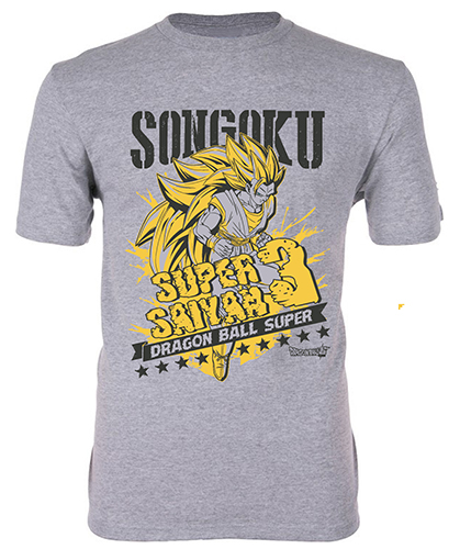 Dragon Ball Super - Ss3 Goku 01 Men's T-Shirt S, an officially licensed product in our Dragon Ball Super T-Shirts department.