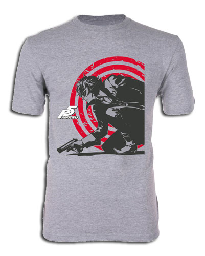 Persona 5 - Protagonist 01 Men's T-Shirt S, an officially licensed Persona product at B.A. Toys.