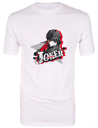 Persona 5 - Protagonist Joker Men's T-Shirt L, an officially licensed product in our Persona T-Shirts department.