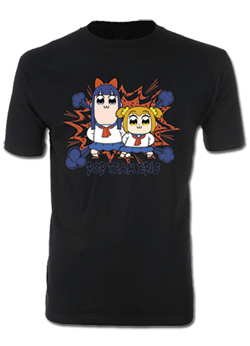 Pop Team Epic - Group 1 Men's T-Shirt XXL, an officially licensed Pop Team Epic product at B.A. Toys.