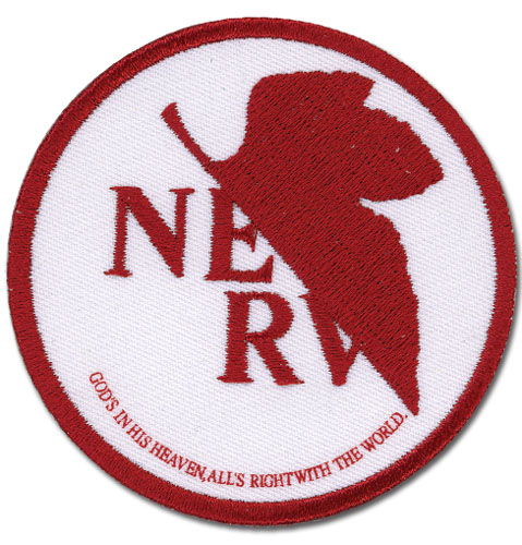 Evangelion Nerv Patch officially licensed product at B.A. Toys.
