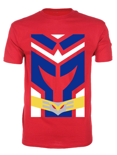 My Hero Academia - Allmight Clothes Men's T-Shirt XXL officially licensed My Hero Academia T-Shirts product at B.A. Toys.