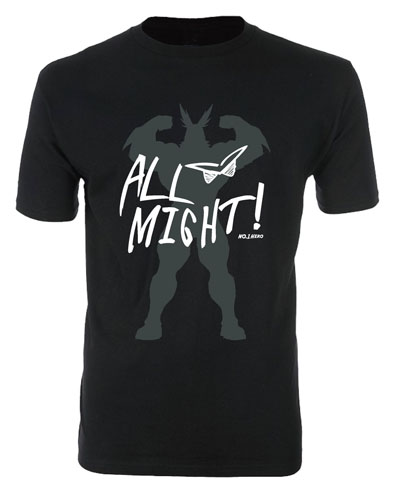 My Hero Academia - Allmight 01 Men's T-Shirt M officially licensed My Hero Academia T-Shirts product at B.A. Toys.