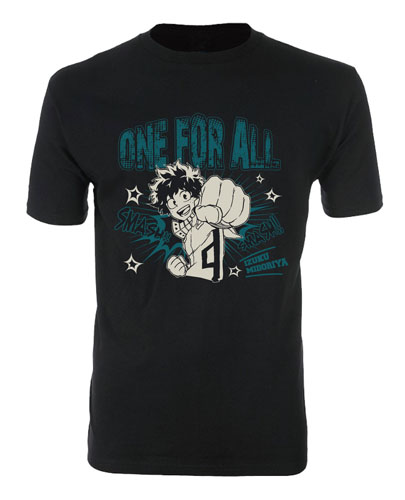 My Hero Academia - Deku 01 Men's T-Shirt M officially licensed My Hero Academia T-Shirts product at B.A. Toys.