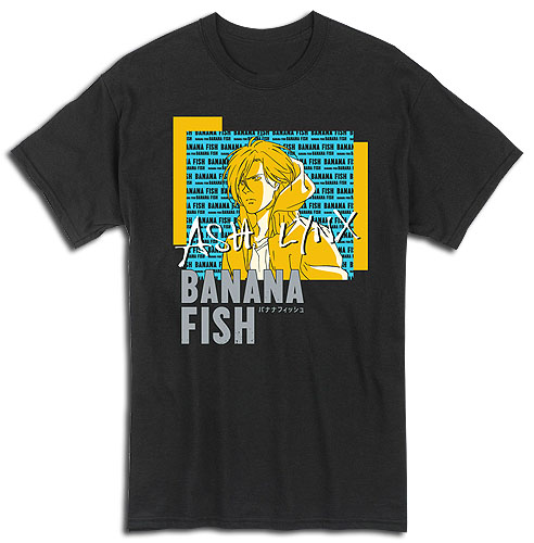 Banana Fish - Ash 02 Mens T-Shirt S, an officially licensed Banana Fish product at B.A. Toys.