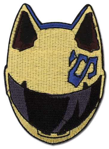 Durarara!! Celty Helmet Patch, an officially licensed Durarara Patch