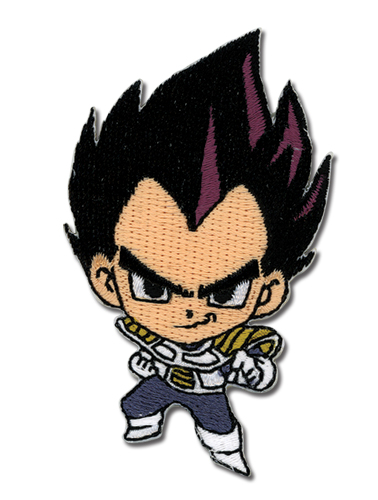 Dragon Ball Z Sd Vegeta Patch, an officially licensed Dragon Ball Z Patch