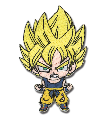Dragon Ball Z Sd Ss Goku Patch, an officially licensed Dragon Ball Z product at B.A. Toys.