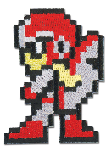 Megaman 10 Proto Man Patch, an officially licensed product in our Mega Man Patches department.