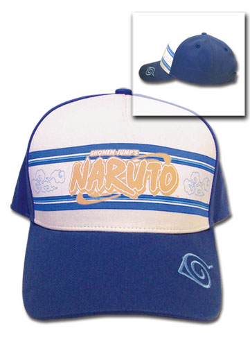Naruto Blue Trucker Baseball Cap officially licensed product at B.A. Toys.