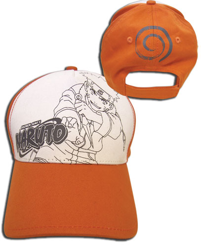 Naruto Baseball Cap officially licensed product at B.A. Toys.