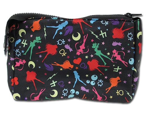 Sailor Moon R - Sailor Inner & Luna Cosmetic Bag, an officially licensed Sailor Moon product at B.A. Toys.