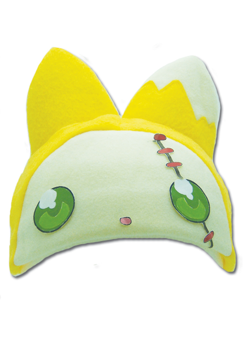Moon Phase Hazuki Cat Fleece Cap officially licensed product at B.A. Toys.