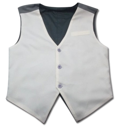 Tiger & Bunny Kotetsu's Vest L, an officially licensed product in our Tiger & Bunny Costumes & Accessories department.