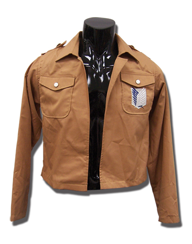 Attack On Titan - Scouting Legion Uniform Jacket S, an officially licensed product in our Attack On Titan Costumes & Accessories department.