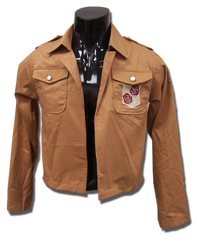 Attack On Titan - Stationary Legion Uniform Jacket S, an officially licensed product in our Attack On Titan Costumes & Accessories department.