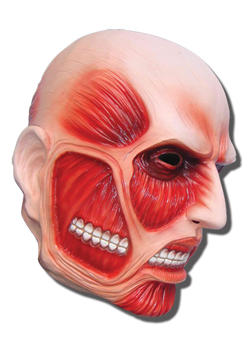 Attack On Titan - 50M Titan Mask, an officially licensed Attack On Titan product at B.A. Toys.