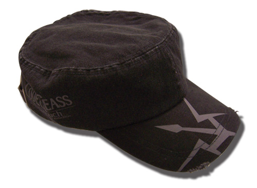 Code Geass Black Knights Military Hat officially licensed product at B.A. Toys.