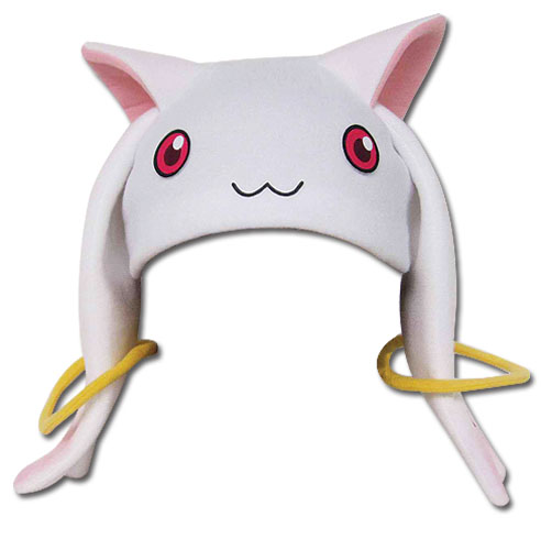 Madoka Magica Kyubey Fleece Cap, an officially licensed product in our Madoka Magica Hats, Caps & Beanies department.