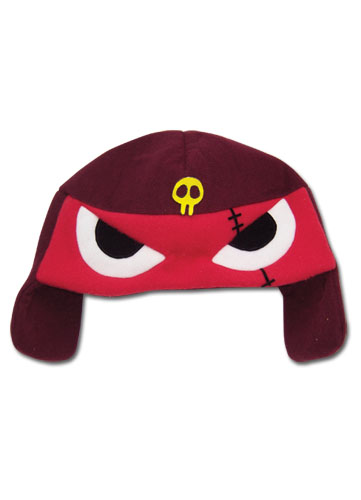Sergeant Frog Giroro Fleece Cap officially licensed product at B.A. Toys.