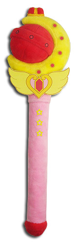 Sailor Moon R - Cutie Moon Rod Plush 12
