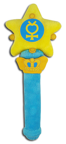 Sailor Moon R - Sailor Mercury Star Power Stick Plush 8