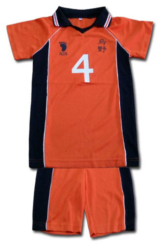 Haikyu!! - Karasuno #4 Uniform L officially licensed Haikyu!! Costumes & Accessories product at B.A. Toys.