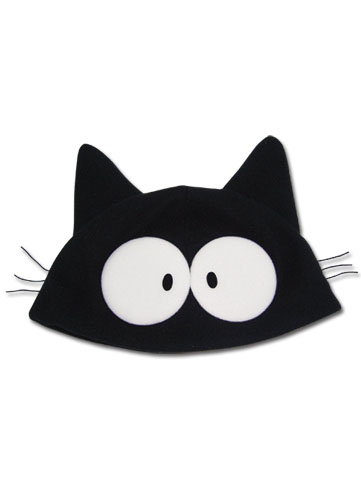Flcl Takkun Black Cat Fllece Cap, an officially licensed FLCL Cap