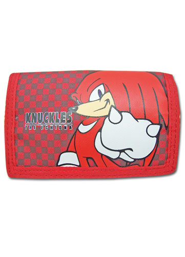 Sonic The Hedgehog Knuckles Wallet, an officially licensed product in our Sonic Wallet & Coin Purse department.