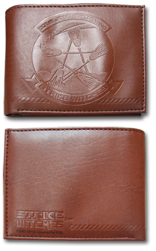 Strike Witches 501St Logo Wallet, an officially licensed product in our Strike Witches Wallet & Coin Purse department.