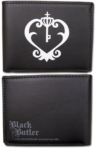 Black Butler - Sebastian Watch Logo Wallet, an officially licensed product in our Black Butler Wallet & Coin Purse department.