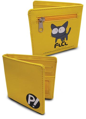 Flcl P! And Takkum Wallet, an officially licensed FLCL Wallet & Coin Purse