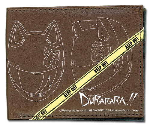 Durarara!! Celty Helmet Wallet, an officially licensed Durarara!! product at B.A. Toys.