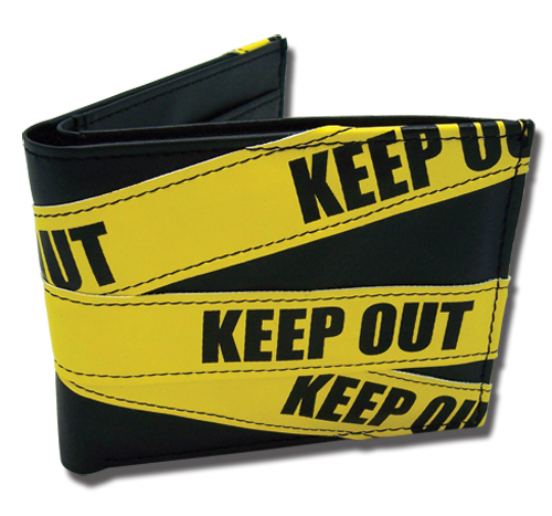 Durarara!! Keep Out Wallet, an officially licensed product in our Durarara!! Wallet & Coin Purse department.