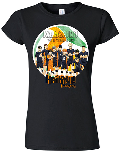 Haikyu!! - Group Silhouette Jrs. T-Shirt L officially licensed Haikyu!! T-Shirts product at B.A. Toys.