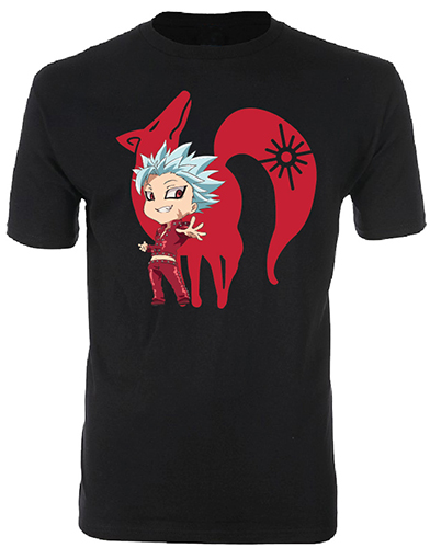 The Seven Deadly Sins - Ban Men's T-Shirt S officially licensed The Seven Deadly Sins T-Shirts product at B.A. Toys.