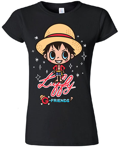 One Piece - Luffy Jrs. T-Shirt L, an officially licensed product in our One Piece T-Shirts department.