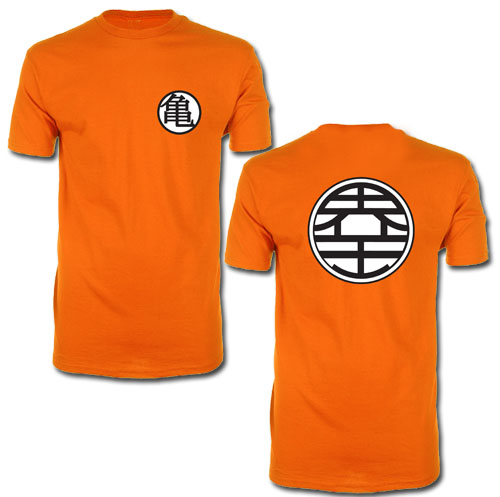 Dragon Ball Z - Kame Symbol T-Shirt L officially licensed Dragon Ball Z T-Shirts product at B.A. Toys.