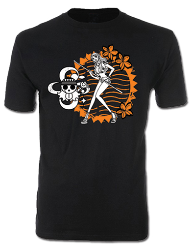 One Piece - Nami Men's T-Shirt S, an officially licensed product in our One Piece T-Shirts department.
