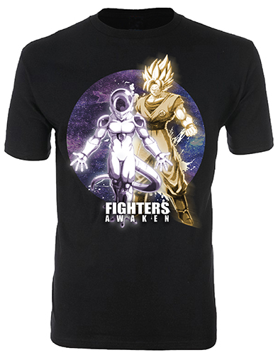 Dragon Ball Fighterz - Fighters Awaken Men's T-Shirt XXL, an officially licensed product in our Dragon Ball Fighter Z T-Shirts department.
