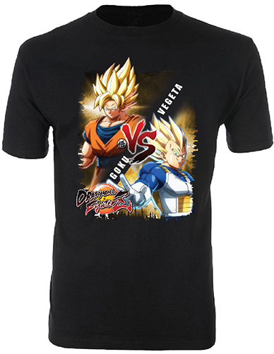 Dragon Ball Fighterz - Goku Vs Vegeta Men's T-Shirt L, an officially licensed product in our Dragon Ball Fighter Z T-Shirts department.