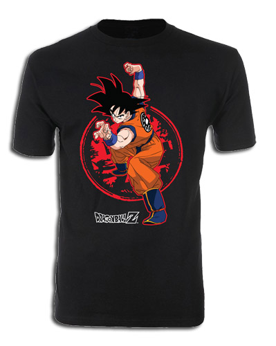 Dragon Ball Z - Goku & Z Stamp Men's T-Shirt L officially licensed Dragon Ball Z T-Shirts product at B.A. Toys.