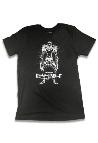 Death Note - Ryuk Men's Screen Print T-Shirt L, an officially licensed product in our Death Note T-Shirts department.