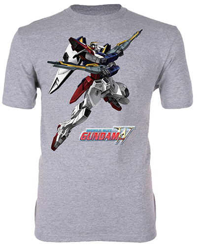Gundam Wing - Xxxg 01 Wing Gundam Men's T-Shirt L, an officially licensed product in our Gundam Wing T-Shirts department.